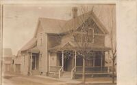 Real Photo Postcard House at 421 Harrison Avenue in South Bend, Indiana~126677