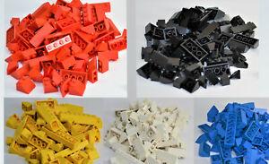 LEGO® City Dachsteine Dachziegel Schrägstein 45° Haus Dach ca. 90 Stück gemischt