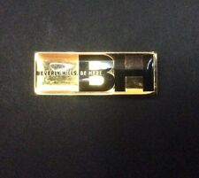 Lovely Enamelled Lapel Badge Pin BEVERLY HILLS. BE HERE. Like a Jewel...SCARCE!!