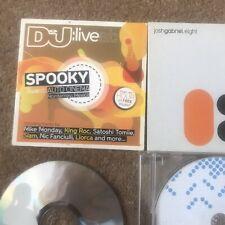 Dance & Electronica CDs Spooky Live Set/ MatthewDekay/Digweed/Josh Gabriel Eight
