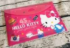 Cute Hello Kitty 45th Anniversary Memo Note Pad Message Letter Gift 64pcs Sanrio