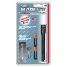"Maglite Light M3A016 Black Mini-Mag AAA 5"" 1200 Candlepower Flashlight"