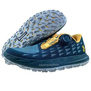 Under Armour Fat Tire Running Shoes Womens Size 6 Dessert Sky Tourmaline Teal