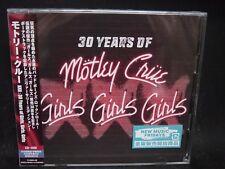 MOTLEY CRUE XXX: 30 Years Of Girls, Girls, Girls + 5 JAPAN CD + DVD Sixx:AM