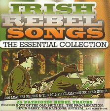 IRISH REBEL SONGS - ESSENTIAL COLLECTION 25 TRACK CD FREE UK P&P