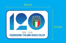 120th Anniversary ITALIA FIGC Calcio PU Soccer Football Patch EXCELLENT QUALITY