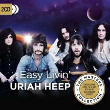 URIAH HEEP EASY LIVIN' THE MASTER COLLECTION 2 CD (Released 27th July 2018)