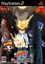 Used PS2 Katekyoo Hitman Reborn! Kindan no Yami  SONY PLAYSTATION JAPAN IMPORT