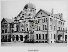 """ST.THOMAS Ontario CANADA """"Court House"""" in 1906 Reprint on Pro Glossy Paper"""
