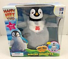 NIB RARE Happy Feet Two Dancing BOADICEA PENGUIN Plush Animated Thinking Toy