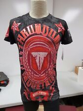 NEW THROWDOWN PREMIUM  MEN'S ARSENSAL TEE SHIRT SIZE SMALL  r511k