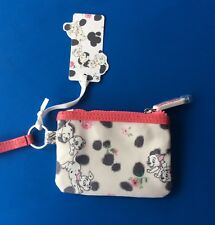 Cath Kidston 101 Dalmatian Zipped Coin Purse Limited Edition With Card -New