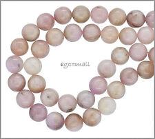 20 Pink Kunzite Round Beads ap. 10mm 7.8' #85402