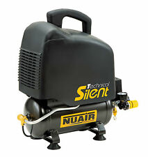 Compressore portatile silenzioso oil less 1Hp 6 lt litri Nuair