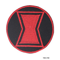 Black Widow Super Hero Movie Embroidered Iron On Sew On Patch Badge For Clothes