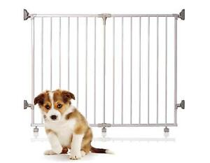 Bettacare Foldaway Puppy Gate Wide Pet Barrier Dog Guard 60cm - 125cm