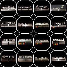 Medal Hanger Holder Display Rack Hook-STEEL 36 DIFFERENT DESIGNS STORE 60 MEDALS