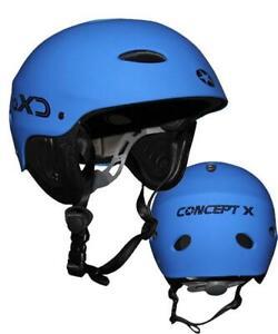 Concept X Casque Kitesurf Surf Wakeboard Kayak Bleu