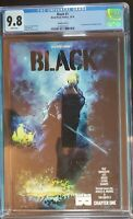 Black #1 CGC 9.8 Variant Cover B First Print 1st appearance of Kareem Jenkins