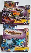 Transformers Cyberverse Whirl Bludgeon lot set Turbo Talon 1-Step new hasbro one