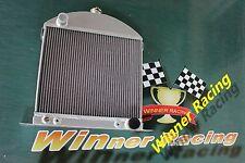 Fit Ford model A chopped w/Chevy engine 1928-1931 1929 Aluminum Radiator Custom
