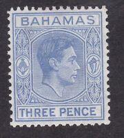 Bahamas KGVI - 1938 - 3d Blue - SG154a - Mint Hinged (B4E)