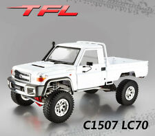 1/10 TFL Rock Crawler 4WD KIT C1507 LC70 RC Car Metal Chassis Model TOYOTA Shell