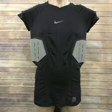 New Mens NIKE Pro Combat Hyperstrong Compression 4 Pad Football Shirt Size XXL