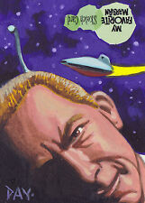 My Favorite Martian Sketch Card SK1 By David Day
