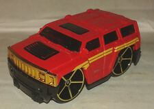 hummer H3 rouge  hotwheels 1/64 neuve new Hot Wheels 4x4 usa army