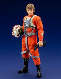 Star Wars LUKE SKYWALKER X-WING PILOT 1:10 Scale Statue NIB by Kotobukiya