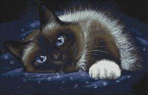 BEAUTIFUL CAT - CROSS STITCH CHART