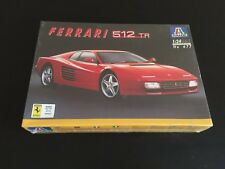Italeri 1:24 Ferrari 512 TR Plastic Model Kit #677 Factory Sealed