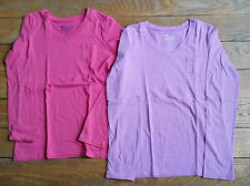 Lot de 2 T-shirts ML OLD NAVY  10-12 ans rose et mauve