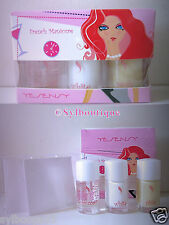 'Yesency' Kit French Manucure: 3 Vernis x 8,5ml + 40 Guides Ongles Inclus