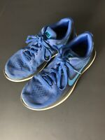 Nike Flex 2017 RN Toddler Youth Size 5Y Blue/Black 904236-401 Sneakers