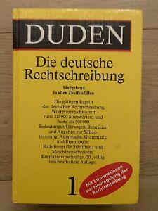 Duden - Die deutsche Rechtschreibung (20. Auflage, Gebundene Ausgabe)
