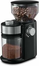 Gourmia GCG168 Compact Electric Burr Adjustable Coffee Grinder New