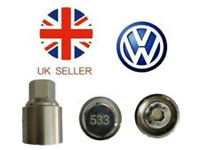 VW New Locking Wheel Nut Key With Letter P533