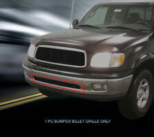 Black Bumper Billet Grille Grill  For 1999 2000 2001 2002 Toyota Tundra