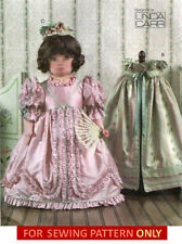 RETIRED VOGUE SEWING PATTERN! MAKE DOLL DRESS~CAPE! FIT AMERICAN GIRL SAMANTHA!