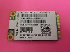 Dell 5620 Gobi 2000 WCDMA ATT GPRS 2G 3G WWAN Wireless Mini PCI-E Card A00 GV33N