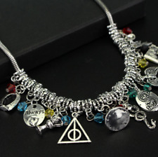 Harry Potter Silver Fashion Necklace Deathly Hallows Hermoine