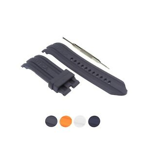 24mm Silicone Watch Strap Band Fits For Nautica A15574G A15565G N14601G W/ Tool