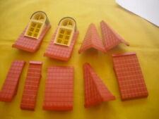 Playmobil  -  Teile vom Dach  -  Dächer  -  Einfamilienhaus