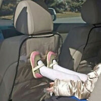Clean and convenient  Black side car seat back protection anti kick pad