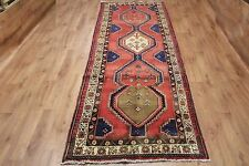 OLD WOOL HAND MADE ORIENTAL FLORAL RUNNER AREA RUG CARPET 290 X 115CM