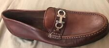 Amputee Right Shoe Only Men's Ferragamo  Size 7.5D Brown Leather