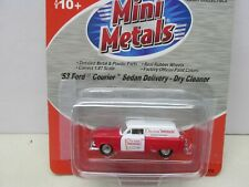 ~Mini Metals~ '53 Ford Courier Sedan Delivery-Dry Cleaner ~ Lot A~Ho Scale