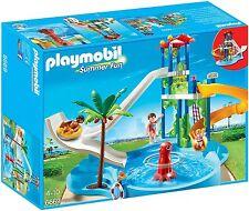 Playmobil 6669 Aquapark mit Rutschentower NEUHEIT 2015 OVP*
